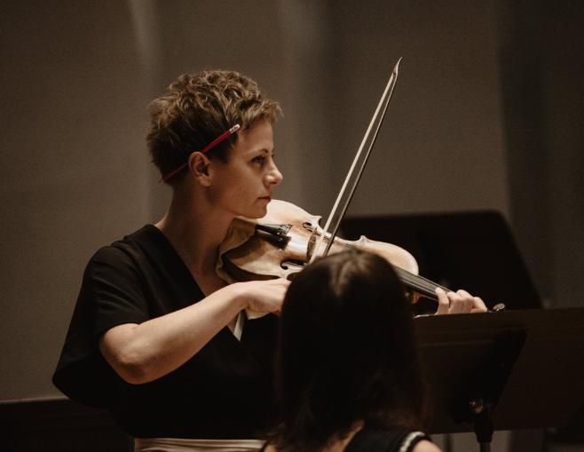 Orkiestra Historyczna skrzypce skrzypaczka muzyka